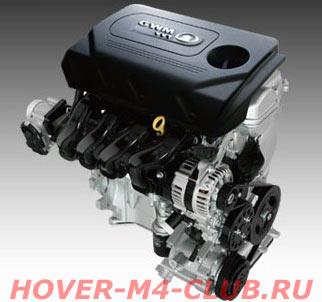 Двигатель Hover M4 GW4G15
